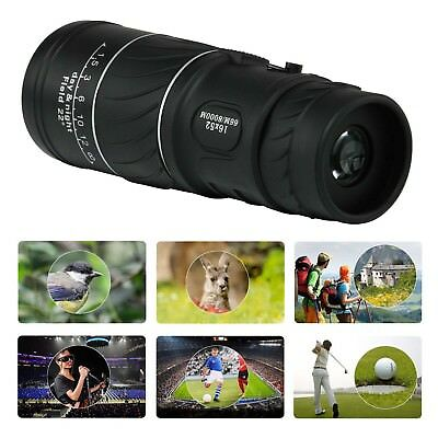Outdoor Day&Night Vision 16x52 Optical Monocular Hunting Hiking Telescope NEW