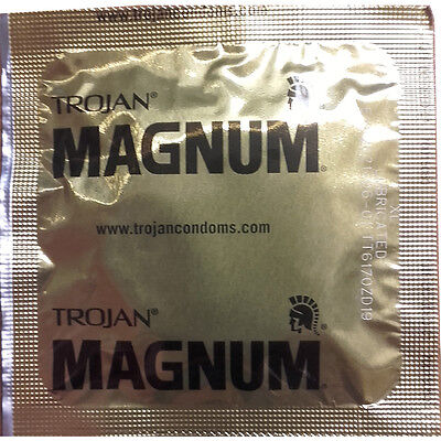 Trojan Magnum XL - Extra Large Condoms - UK Stock (1-20 pack) FREE DELIVERY