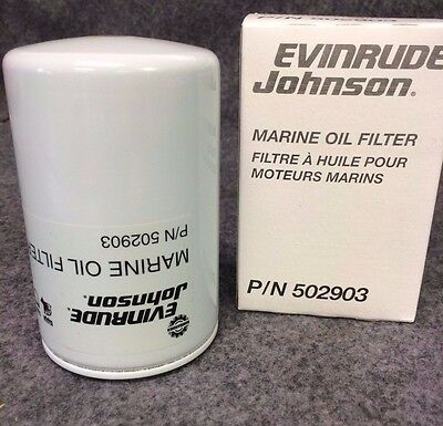 New BRP US INC. Evinrude/Johnson Oil Filter  502903
