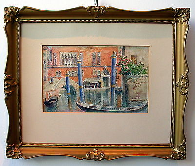 "Carl Weiss ""Venedig, Ponte Marcello"""