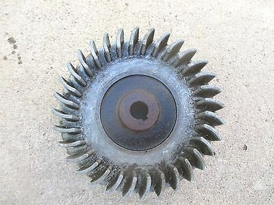 Old Briggs & Stratton Gas Engine Flywheel 61746 Model N I WI