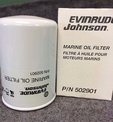 New BRP US INC. Evinrude/Johnson Oil Filter  502901