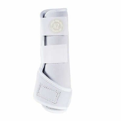 Horze Supreme Brushing Boots | White | M