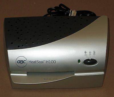 "GBC HeatSeal H100 4"" Photo Quality Laminator Hot and Cold 1701280"