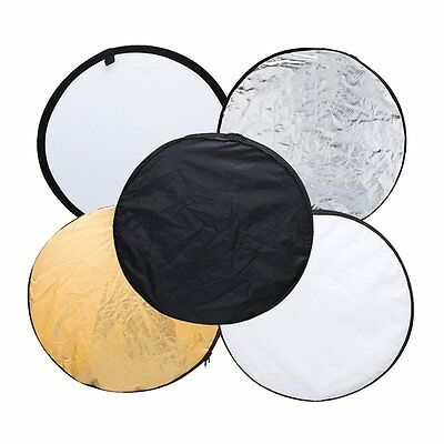 "Neewer 22""/60cm 5-in-1 Photo Studio Multi-Disc Collapsible Light Reflector"