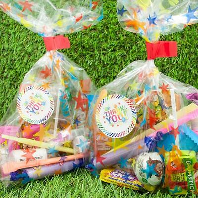 Pre Filled Star Sweet Bags, Birthday Party Favours, Children Kids Candy, Bag