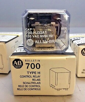Lot of 2 *NEW* Allen-Bradley 700-HJ32A1 Control Relay