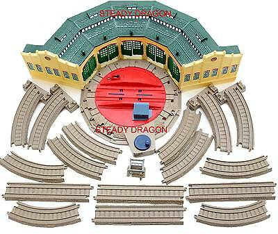 Thomas & Friends TRACKMASTER TIDMOUTH SHEDS with tracks 2006 HIT TOY