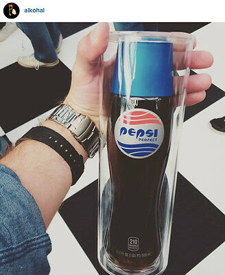 Pepsi perfect Collectible Bottle with Case