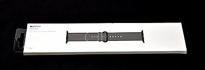 Original Apple Watch Woven Nylon Band 42mm Black - MM9Y2AM/A  1362eb