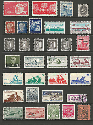 East Germany mint and used stamps