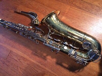 The Martin Committee Alto Saxophone from 1960's, Beautiful horn w/ Nickel Keys