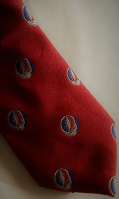 The Grateful Dead Neck Tie Skull 1990
