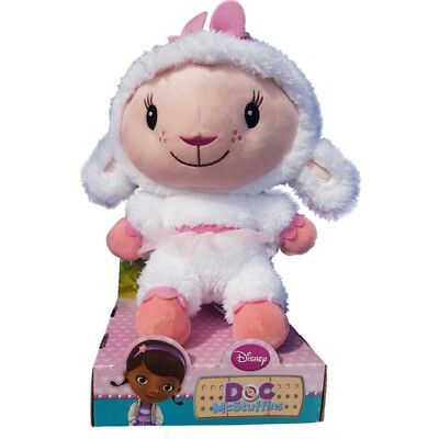 "Doc McStuffins Soft Toy 12"" Large Plush Lambie"