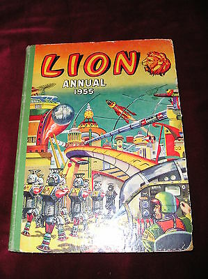 1955 Lion Annual - Good Condition - Not Price Clipped