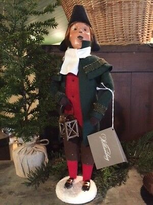 Byers Choice Carolers- 2017 Williamsburg Colonial Man