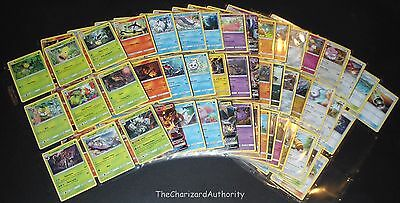 SM Guardians Rising Complete REGULAR 130 Card Set NM Pokemon Cards Tapu Lele GX