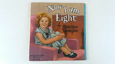 Shirley Temple Now I Am Eight authorized edition book, New York. Film Movie