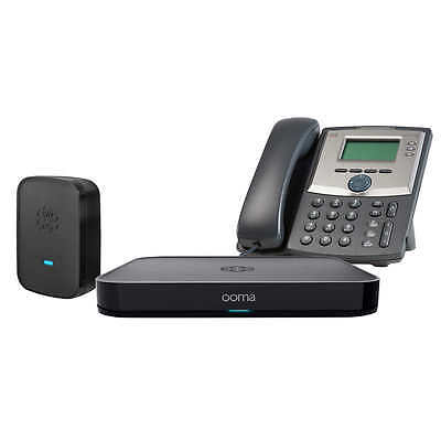 Ooma Office Small Business Phone Service with 3 Line Phonem