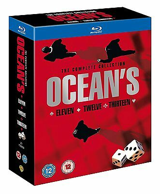 Oceans Trilogy  DVD Blu-ray - NEW/SEALED