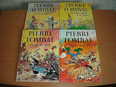Lot Pierre Tombal Tomes 7 A 10 Tous Eo Cauvin / Hardy