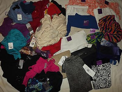 NEW WOMENS CLOTHING WHOLESALE HUGE 65 Pc. LOT Plus Size Lane Bryant Charter Club