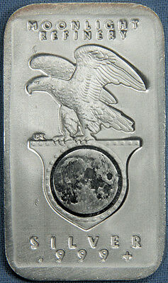 Daniel Carr May 2012 Moonlight Refinery 1 Troy Oz .999 Silver Bar - Only 41 made