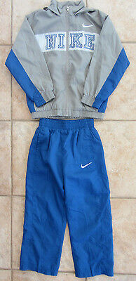Nike, Boys Size 6,  2-Piece Gray and Blue Outfit, VGUC!