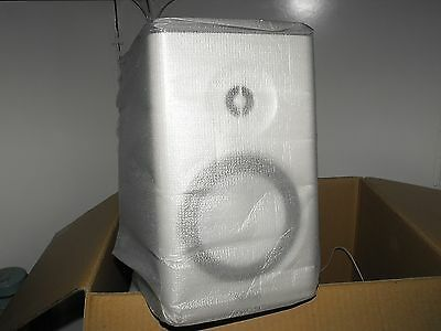 Dennon Quality SC-N7 White 2 Way Bookself Speakers New In Box