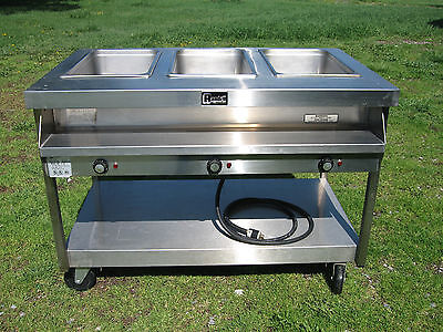 Randell 3513M Commercial 3 Compartment Electric Hot Food / Steam Table