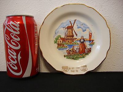 "VINTAGE PHILLIPS 66 ADVERTISING  6"" PLATE- Ter Host Service, Orange City, Iowa"