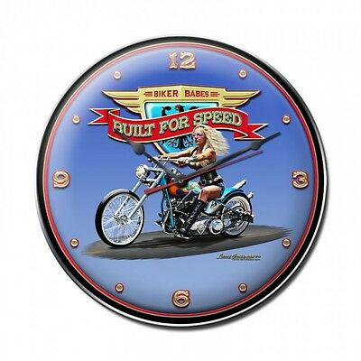 Built for Speed Wall Clock - Hand Made in the USA with American Steel