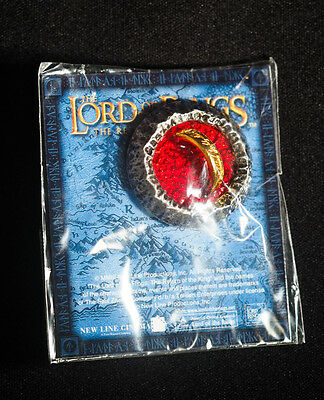 Lord of the Rings Return King 2002 Limited Pin Badge One Ring Exclusive Japan
