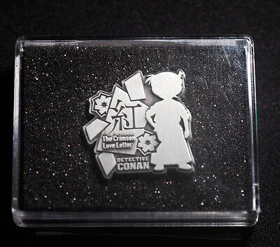 Detective Conan: Crimson Love Letter Official Limited Pin Badge Exclusive Japan