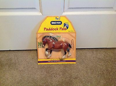 Breyer Paddock Pals Blood Bay Clydesdale