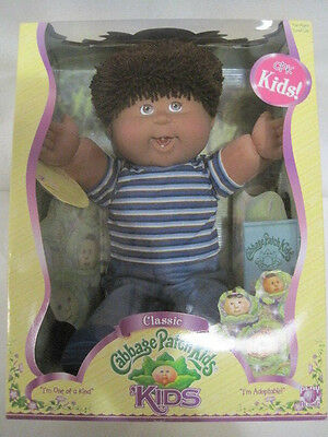 New Rare Classic Cabbage Patch Kids African American Boy (HKW10-439)