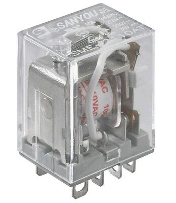 250VDC 10A DPDT Relay 125VAC 2750044 By RadioShack New!!!