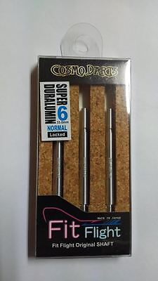 COSMO FIT SUPER DURALUMIN NORMAL LOCKED #6 SHAFTS 35mm  FOR FIT FLIGHTS ONLY