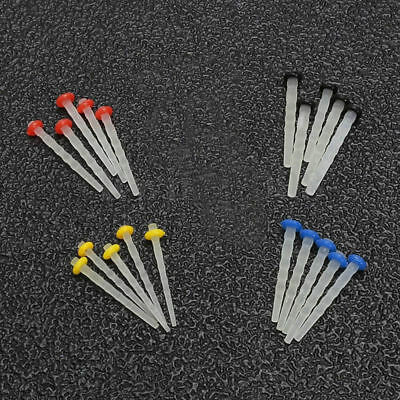 Straight/Screw Dental Fiber Post Glass Set Refill Drill Thread Files 4 colors