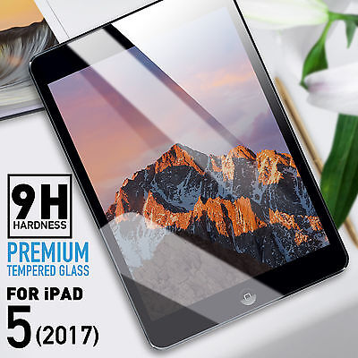 Genuine NUGLAS Tempered Glass Screen Protector for Apple iPad 5 9.7-inch 2017