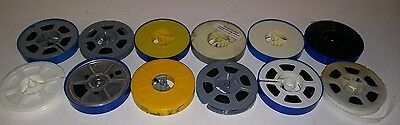 Vintage-8Mm Home Movies Lot Of(12)Movies-Mystery? 1950's?,1960's,1970's?