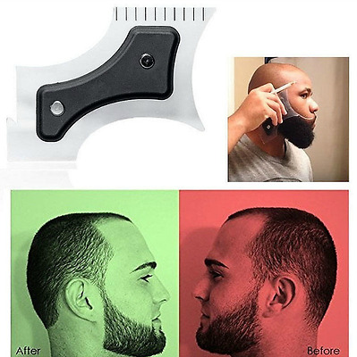 Hairline and Beard Lining Shaping Edging Guide Tool Cut for Hair Mustache