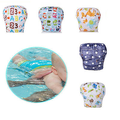 New Swim Nappy Baby Cover Reusable Multifit Diaper Pants Nappies Swimmers Hot