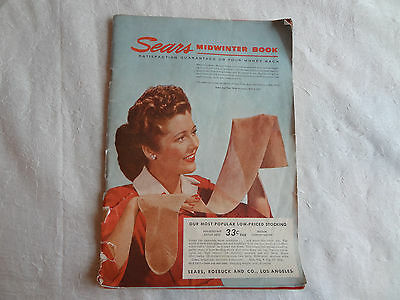 Sears, Roebucck and Co. Midwinter Book 1944 Vintage Shopping Catalog