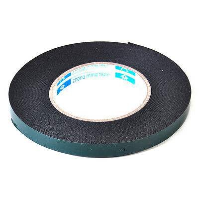 Double Sided Car Trim Moulding & Badge Tape Strong Foam Adhesive 5M x 12mm