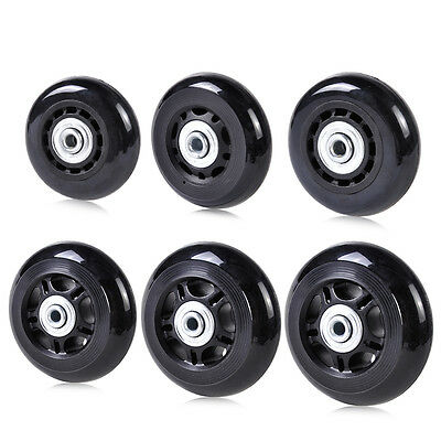 New Replacement luggage inline skate wheels for OD 60/64/68/70/75/80mm