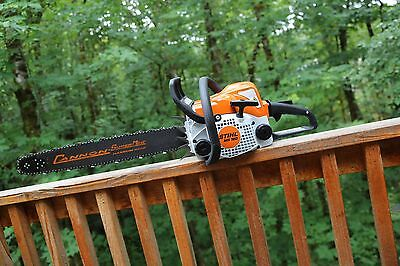 PILTZ Stihl MS180 HOT SAW 20 inch Cannon bar and Chain Perfect CHAINSAW
