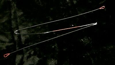 Triangle compound bow string