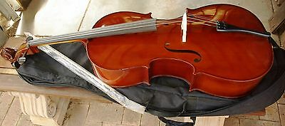Palatino Psi-045Cv 4/4 Cello  & Padded Gig Bag, New.