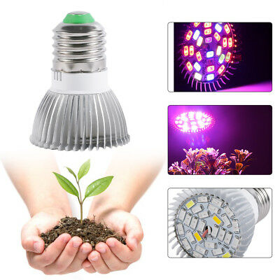 28W Full Spectrum E27 Led Grow Light Growing Lamp Light Bulb For Flower Plant AU